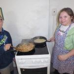 Postcrossing, vaření , ŠD věnečky 006