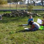 Výtvarná výchova v přírodě - 4. a 5. ročník - 16.10. 2018 077